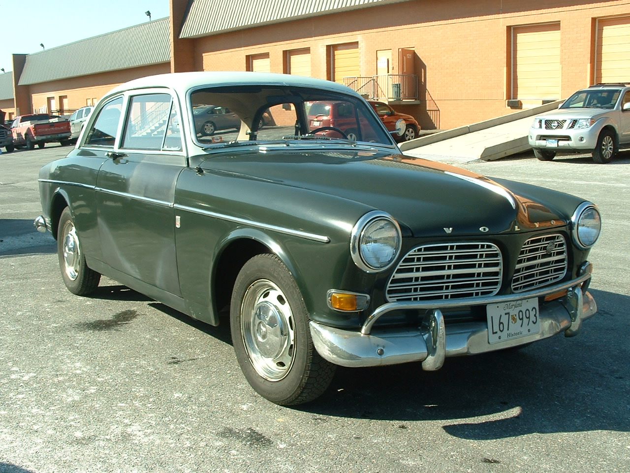 vintage volvo coupe