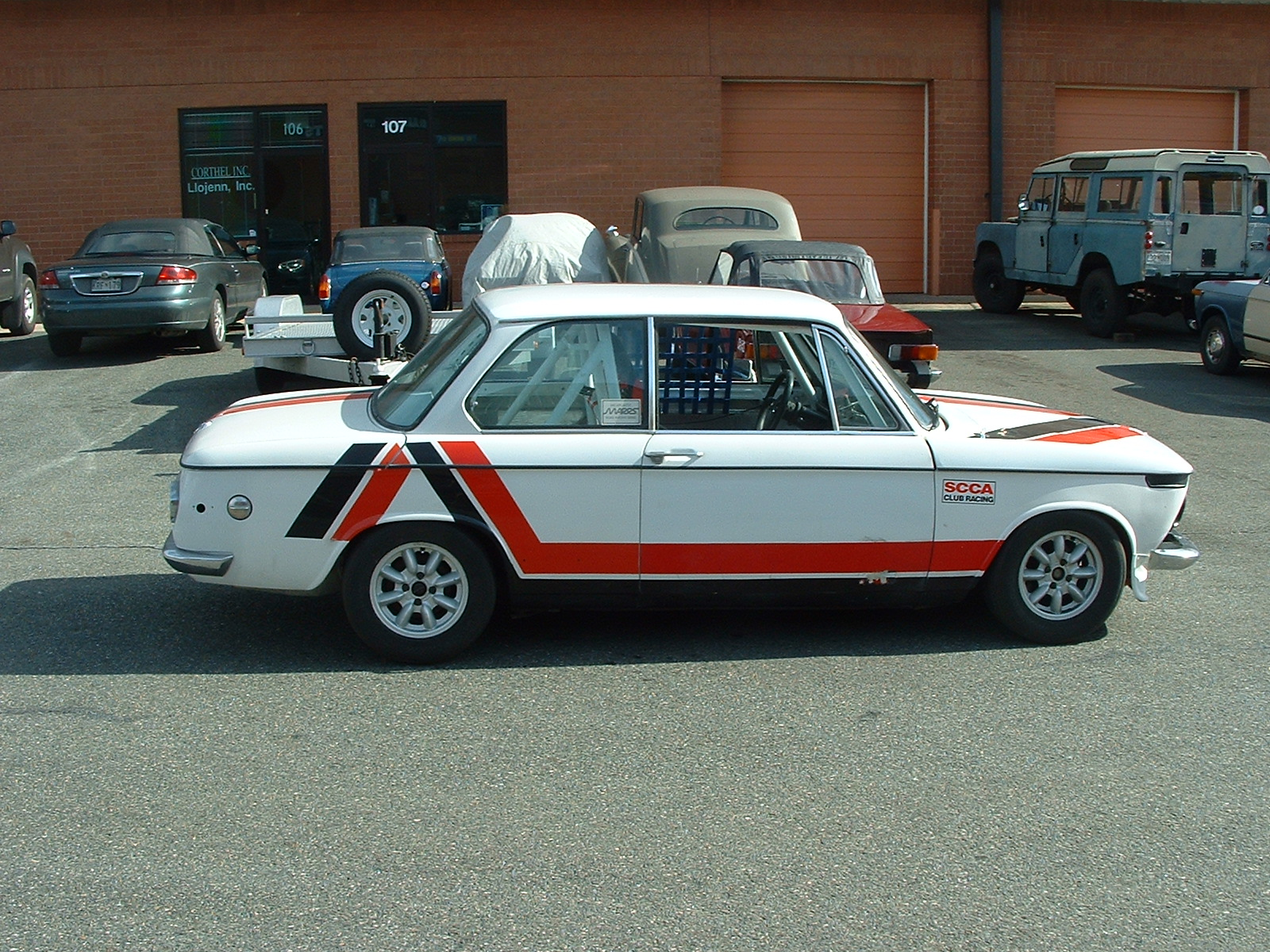 1971 BMW 2002 Race Car For Sale! – SOLD | Raspis British Imports