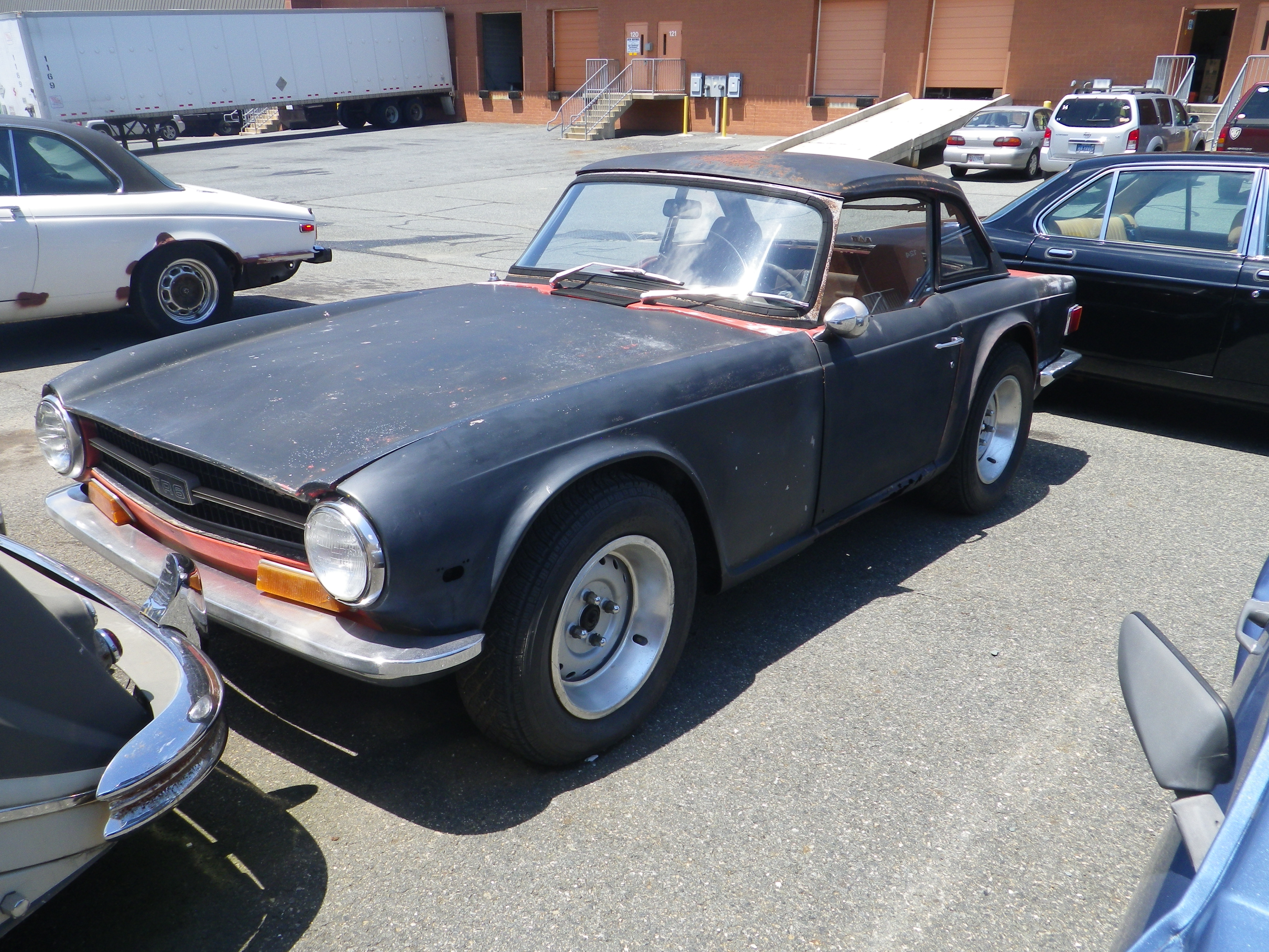 1972 Triumph Tr6 Hardtop Overdrive Project Car Sold Raspis British