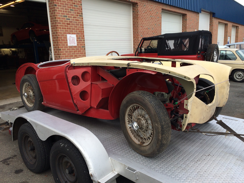 british car restoration | Raspis British Imports